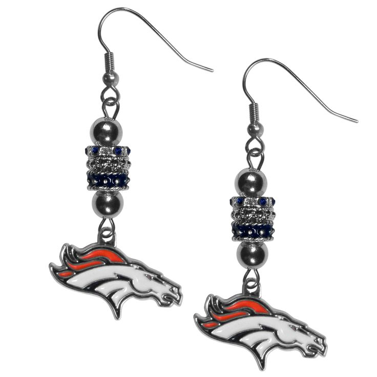 "Checkout our #LicensedGear products FREE SHIPPING + 10% OFF Coupon Code ""Official"" Denver Broncos Euro Bead Earrings - Officially licensed NFL product 3 euro style beads Hypoallergenic fishhook posts Stylish enough for everyday Perfect accessory for a Denver Broncos fan - Price: $19.00. Buy now at https://officiallylicensedgear.com/denver-broncos-euro-bead-earrings-febe020"