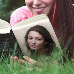 PhotoFunia :: Book lover