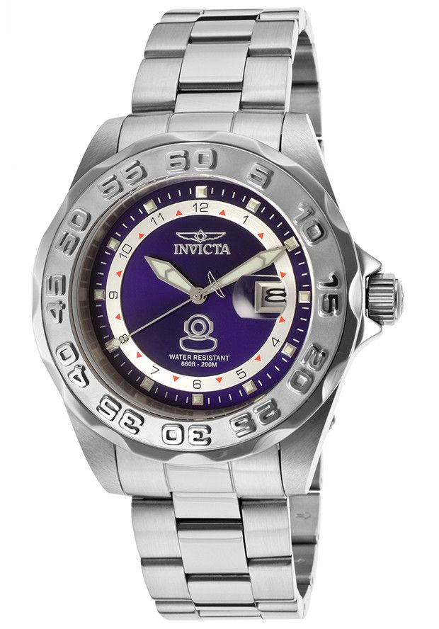 invicta 15336 s pro diver silver stainless steel