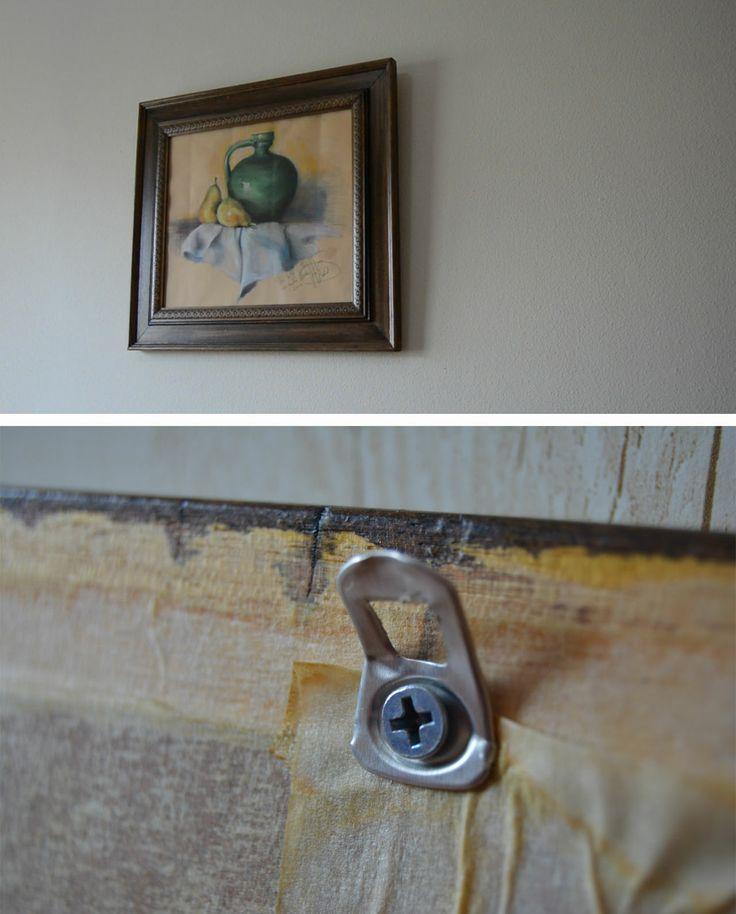 Truco de bricolaje para colgar cuadros seguro que en - Para colgar cuadros ...