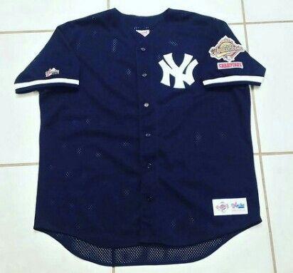 MAJESTIC New York Yankees 1996 World Series Champions Jersey  jerseys  yankees newyorkyankees baseball mlb derekjeter ebay ebayseller  61b146b13