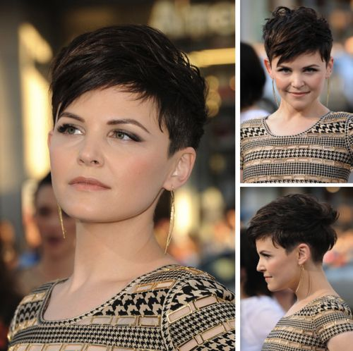 Short hair. Pixie.