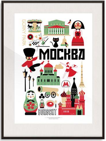 Moscow - Ingela P Arrhenius