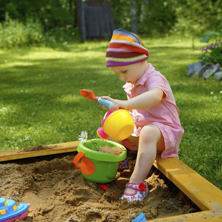 In a sandbox, there is no division between work and play. You do both in creating something special (Image from iStockphoto.com)