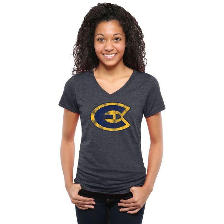 Women's Classic Primary Tri-Blend V-Neck T-Shirt - Navy https://www.fanprint.com/stores/teeshirtstudio-fut?ref=5750
