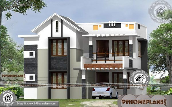 House Plans Size 30 40 With Double Floored Modern City Type Home Plan Model House Plan Small House Design Bungalow House Design