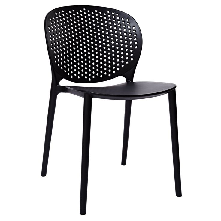clear plastic desk chair