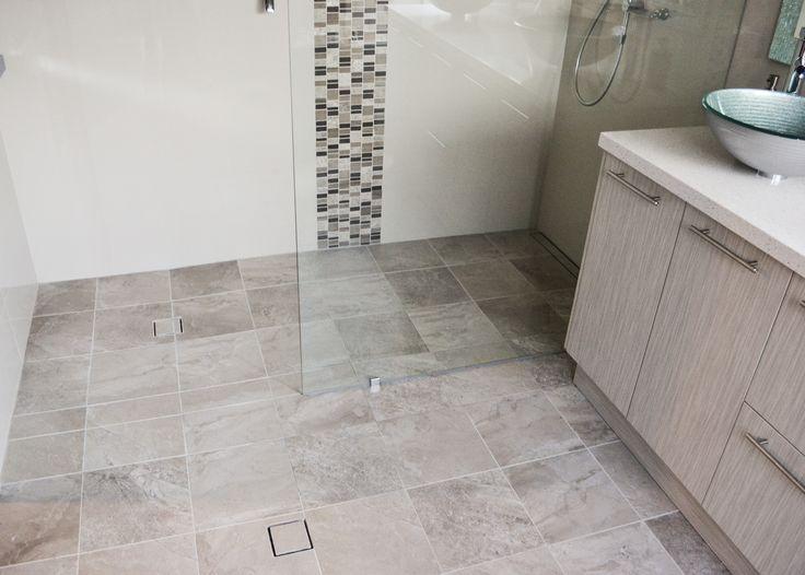Grey Bathrooms Walk In Shower Tile Insert Bathroom Drains Frameless Fixed Panel