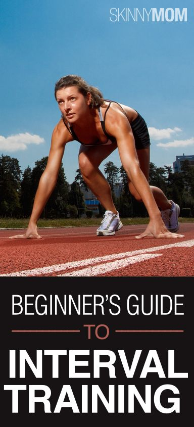 Beginners Guide To Interval Training! This gives explanation to what interval training is and it also provides workouts to do! Burn fat and blast calories with interval training!