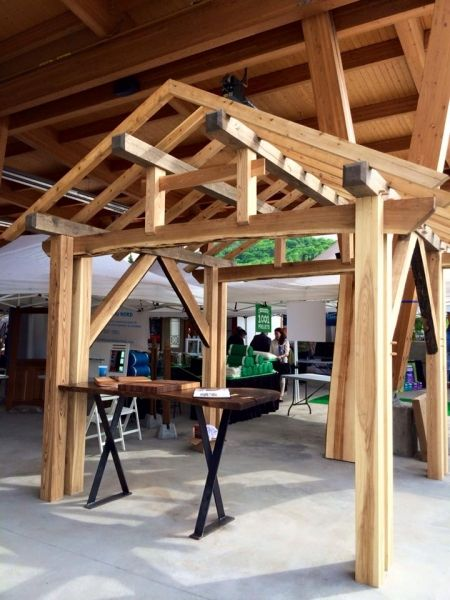 17 meilleures id es propos de gazebo en bois sur. Black Bedroom Furniture Sets. Home Design Ideas