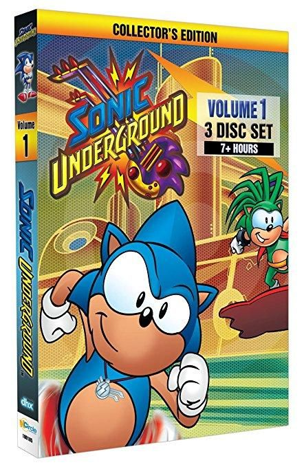 Jaleel White & Dic Entertainment - Sonic Underground: Volume 1