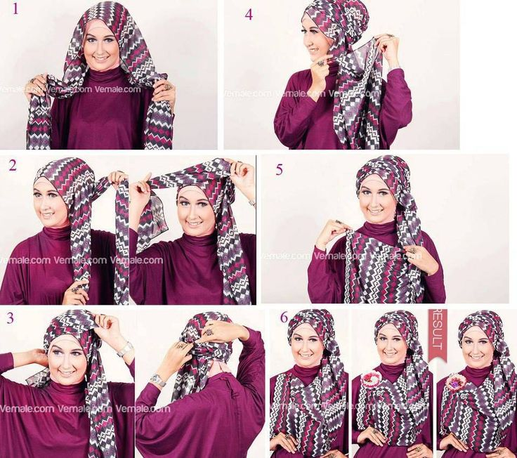 Tutorial Hijab Segi Empat Tanpa Ciput Kumpulan tutorial jilbab