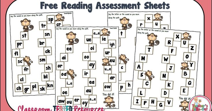 Free Reading Assessments