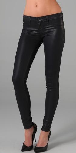 J Brand 901 Stonehenge brand 901 waxed legging jeans.