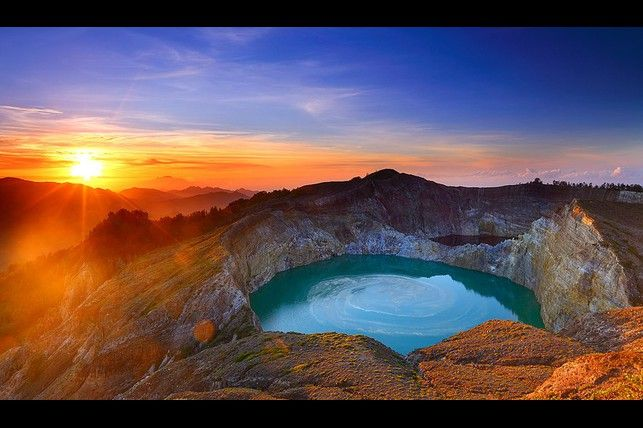 Kelimutu Lake NTT, Indonesia