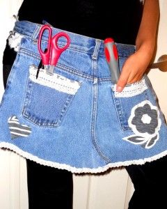 DIY Crafts With Denim
