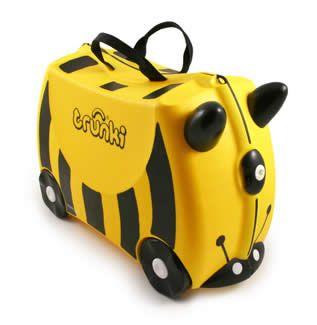 Trunki Çocuk Bavulu - Arı Bernard  Binilebilen sevimli çocuk bavulu.