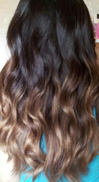 Caramel ombre caramel ombre hair and ombre on pinterest - Ombre hair marron caramel ...