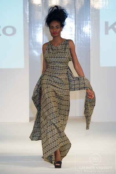 Kemunto collection at Africa Fashion Week London 2012. Photo by Simon Klyne. www.catwalk-capture.com