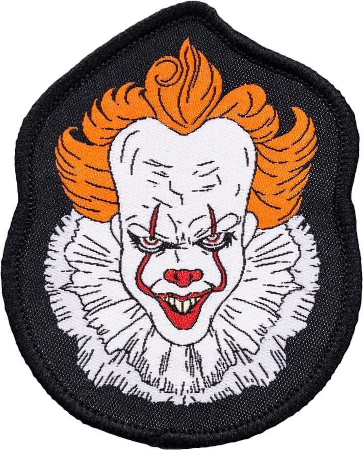 It 2017 Pennywise Face Patch In 2019 Patches Iron On