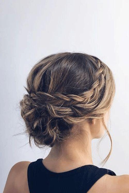Credit Pinterest Updos For Medium Length Hair Medium Length Hair Styles Hair Styles