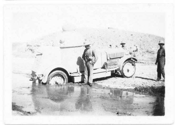 Family Car Image >> Jack Warner, 1920s North West Frontier. Crossley Armoured Car | Family History | Pinterest ...