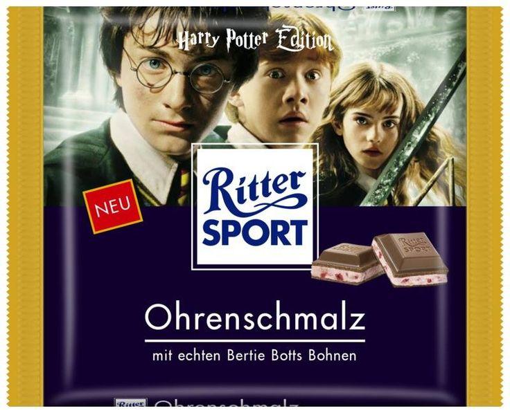 RITTER SPORT Fake Schokolade Sorte Ohrenschmalz