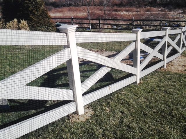Crossbuck Rail Fence Wire Google Search Fencing Post