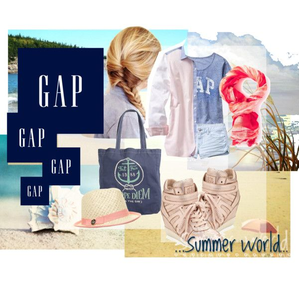 """Summer Lovin,' Gap Style"" by hartantinora on Polyvore"