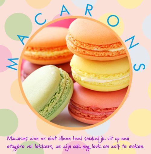 Recept: makkelijk macarons maken