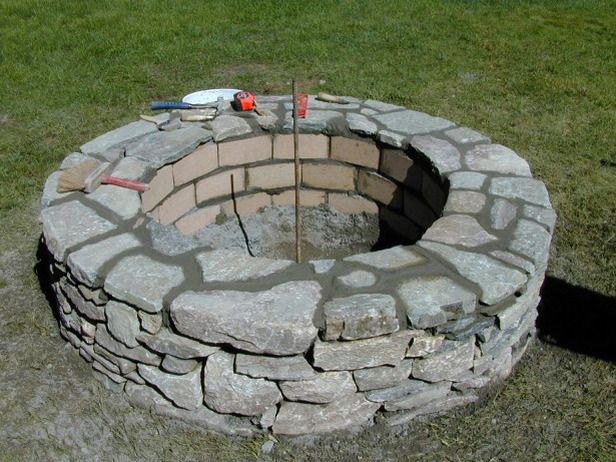 Directions on building a firepit in the back yard. All I have to do is persuade the 3 other adults sharing the property that this is incredibly vital to our wellbeing.
