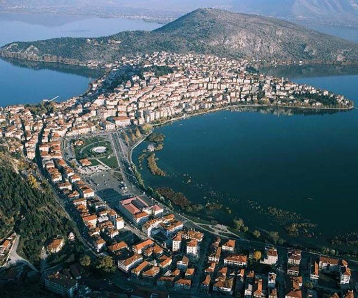 Kastoria and its lake, Macedonia, Greece