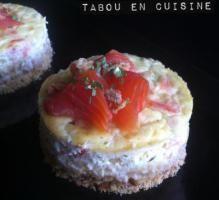 Recette - Cheesecake à la truite fumée et fines herbes - Proposée par 750 grammes