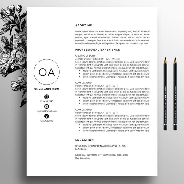 professional resume cv templates のおすすめ画像 21 件 pinterest