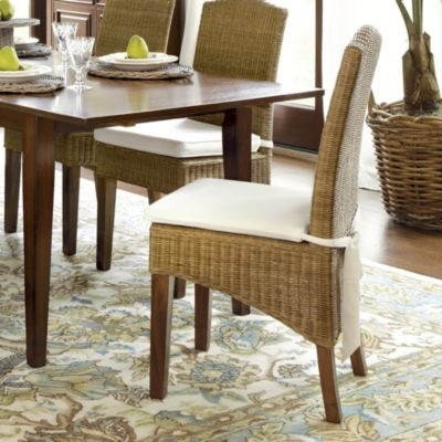 Wicker Dining Chair From Ballard For The Home