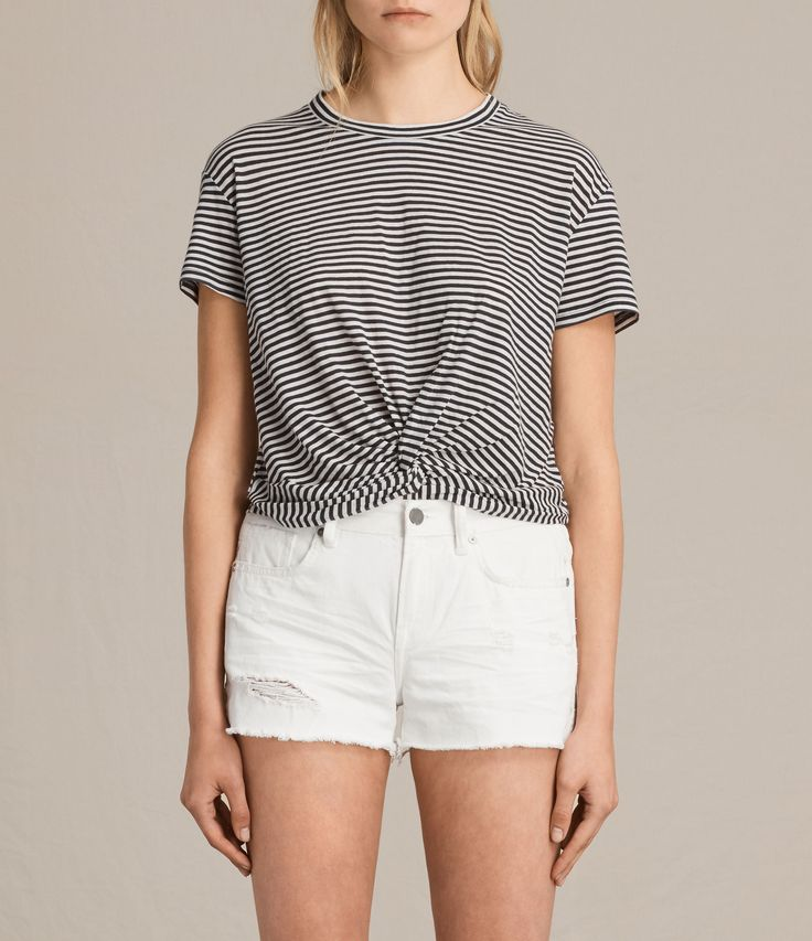Change up your summer staples with cropped stripes