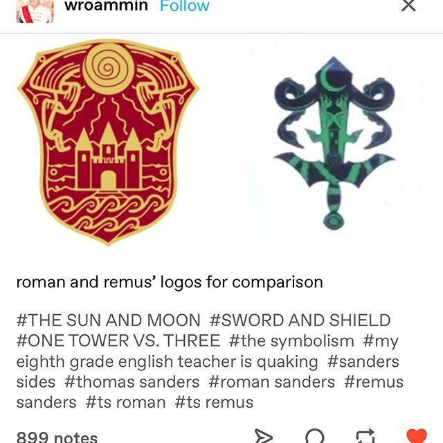 Thats his symbol?   Sander Sides   Thomas sanders, Sander
