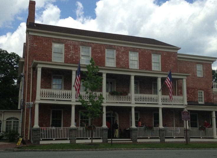 Now the Publick House, was originally the Brick Tavern. Built in 1810, it has served as a hotel and tavern in the heart of charming Chester,  NJ