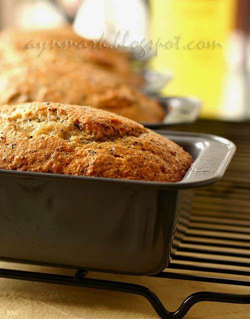 lemonpoppybread Лимонно-маковые кексы