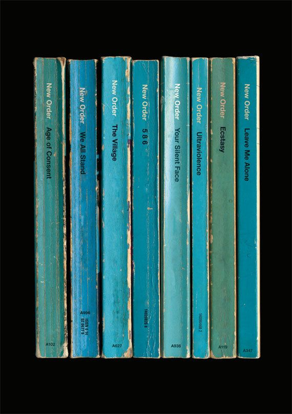 New Order 'Power, Corruption & Lies' Album As Books Poster Print by StandardDesigns
