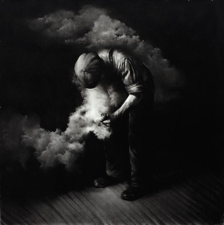 Mircea Suciu. Untitled, graphite on paper