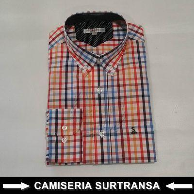 Camisa Cuadros Surtransa 573