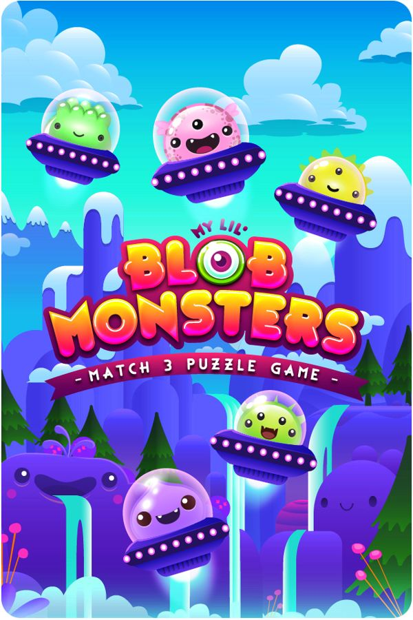 Blob Monsters on Behance