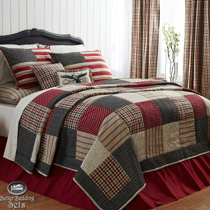 Americana USA Flag Freedom Twin Queen Cal King Quilt
