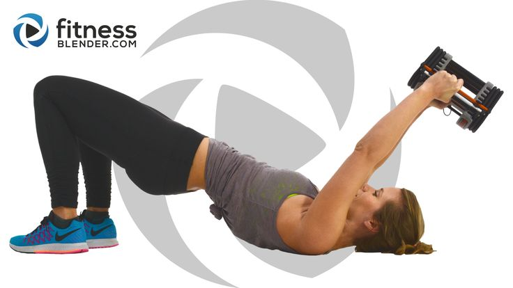 Short attention span? Try this fun and effective upper body workout that doesn't repeat a single exercise: Kelli's Upper Body Workout for People Who Get Bored Easily - Arms, Shoulders, Upper Back