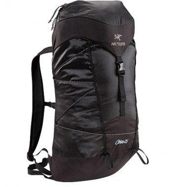 Arc'teryx Cierzo 25 Backpack Black - Dagsryggsäckar - Ryggsäckar och väskor - Utrustning - Produkter