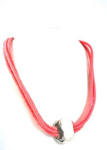 Cocoon - Short Necklace - Silver - Coral Sales price: 17,90 €