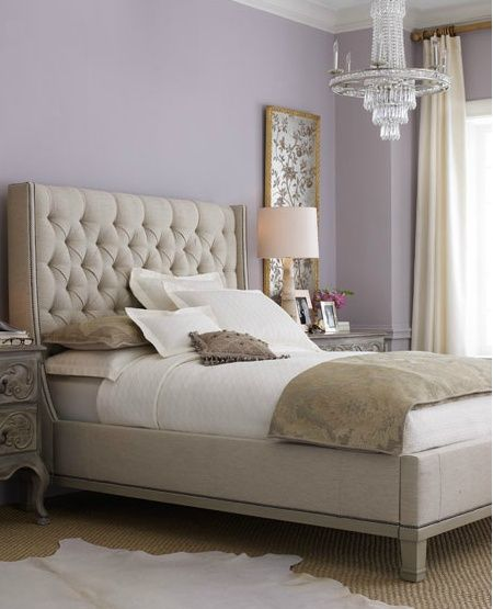 Lavender, Gray And Ivory Bedrooms - Google Search