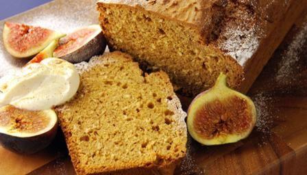 Pumpkin and coconut loaf cake