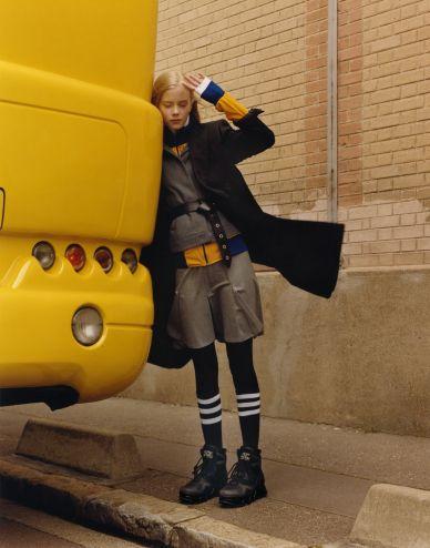 MAP - News – Jamie Hawkesworth Shoots AW14 Fashionfor Self Service